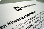 Dokument mit Bunte Sprachkiste Logo